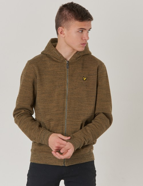 Lyle & Scott barnkläder - Space Dye Zip Through Hoody