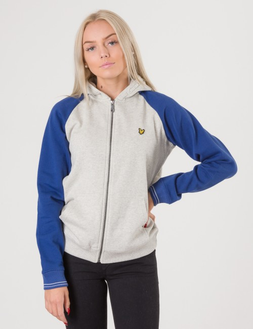 Lyle & Scott barnkläder - Colour Block Zip Through Hoody