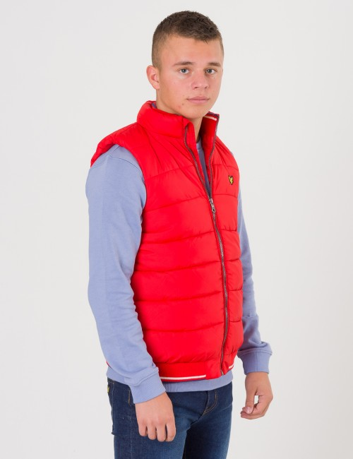 Lyle & Scott barnkläder - Light Weight Colour Block Gilet