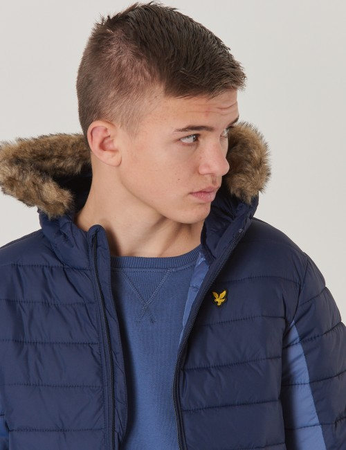 Lyle & Scott barnkläder - LW Colour Block Jacket