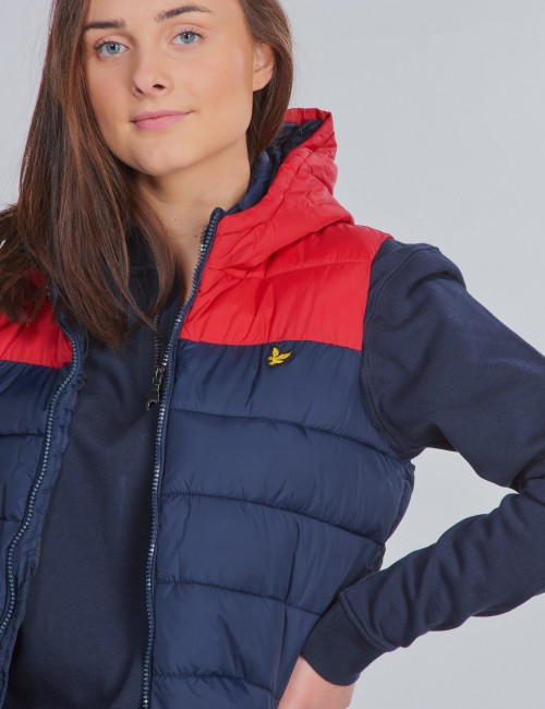 Lyle & Scott barnkläder - Colour Blocked Tipped Gilet