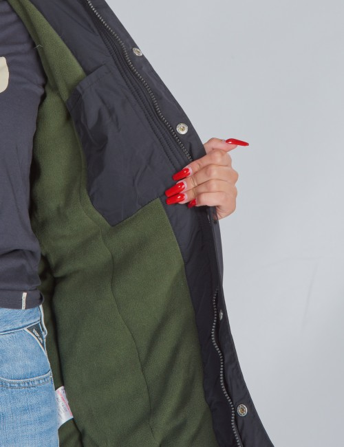 Lyle & Scott barnkläder - Winter Weight Microfleece Parka