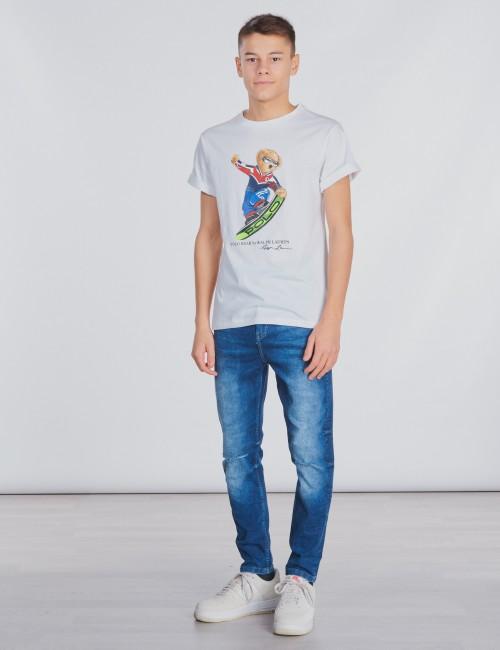Lyle & Scott barnkläder - Denim Skinny Fit