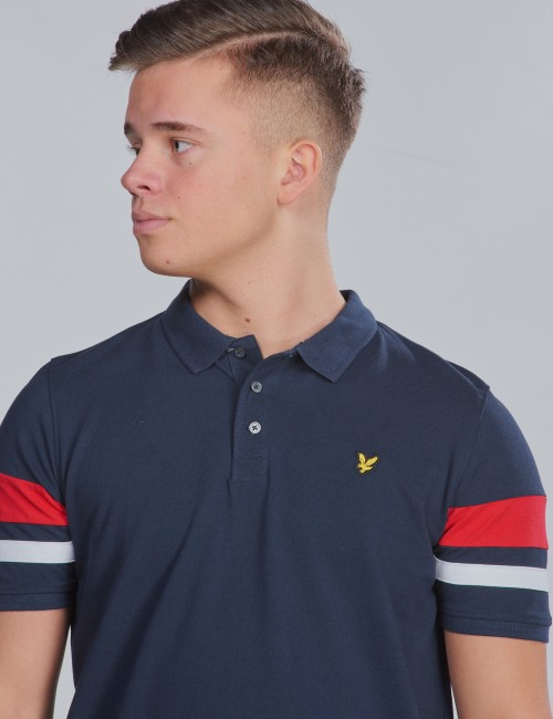 Lyle & Scott - Contrast Band Polo Shirt