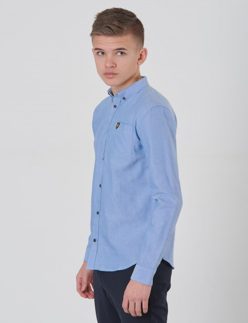 Lyle & Scott barnkläder - Oxford Shirt LS