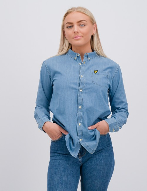 Chambray Shirt Light
