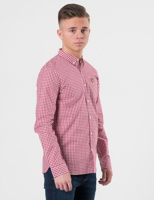 Lyle & Scott barnkläder - Gingham Check Shirt