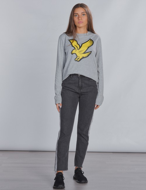 Lyle & Scott - L/S Eagle Logo T-Shirt