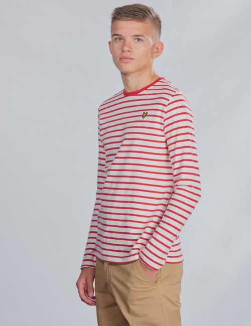 Lyle & Scott barnkläder - LS Breton Stripe Tee