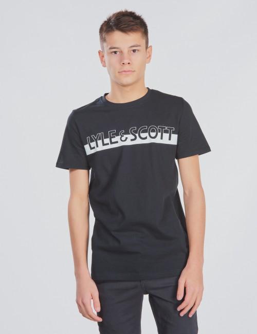 Lyle & Scott barnkläder - Block Logo T-Shirt