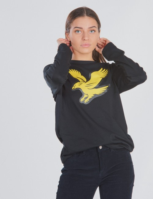 L/S Eagle Logo T-Shirt