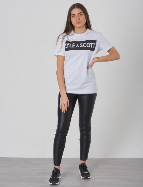 Lyle & Scott barnkläder - Block Logo S/S T-Shirt
