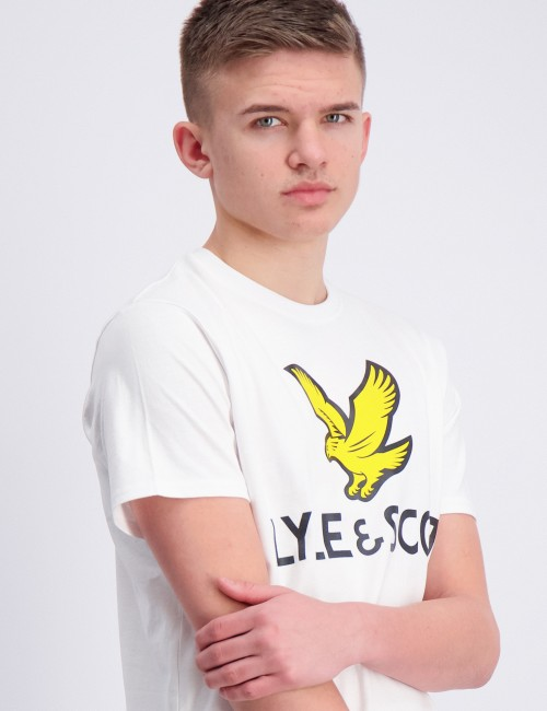 Lyle Eagle Logo T-Shirt