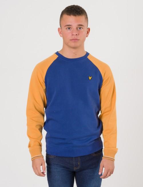 Lyle & Scott barnkläder - Reverse Texture Raglan Sweatshirt