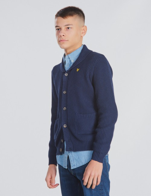 Lyle & Scott barnkläder - Shawl Collar Cardigan 7GG