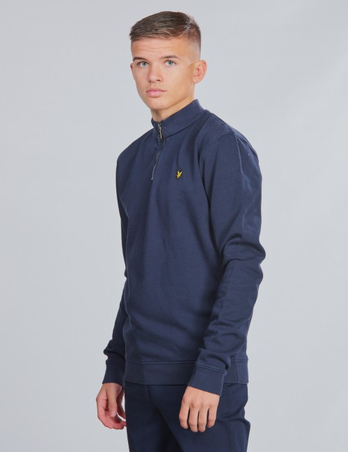 Lyle & Scott barnkläder - Funnel Neck 3/4 Zip BB