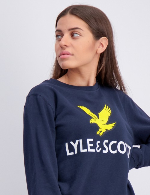 Lyle & Scott barnkläder - Lyle Eagle Logo LB Crew Sweat