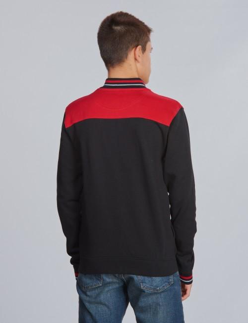 Lyle & Scott barnkläder - Tipped Funnel Neck Sweat Jacket