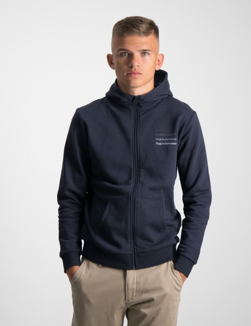 Peak Performance barnkläder - JR Ground Zip Hood