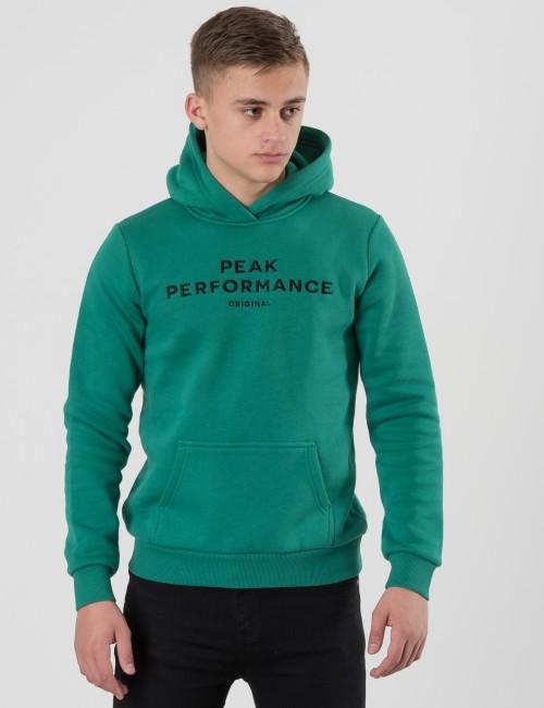 Peak Performance barnkläder - JR LOGO HOODIE