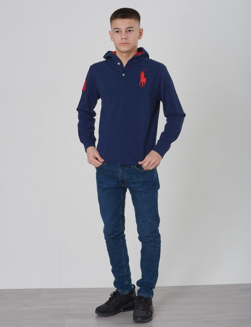 Ralph Lauren - BIG PP HOOD-TOPS-KNIT