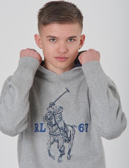 Ralph Lauren barnkläder - PO HOOD-TOPS-SWEATER