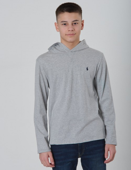 Ralph Lauren - HOODED TEE-TOPS-T-SHIRT