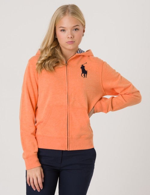 Ralph Lauren barnkläder - FULL ZIP KNIT HOOD
