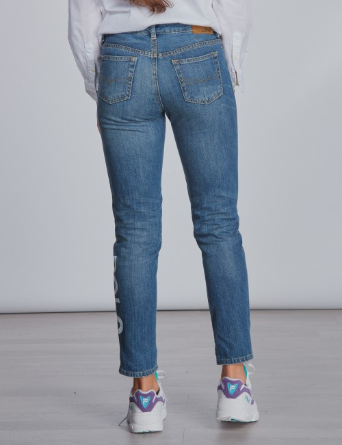 Ralph Lauren barnkläder - ASTOR BF SLM-BOTTOMS-DENIM