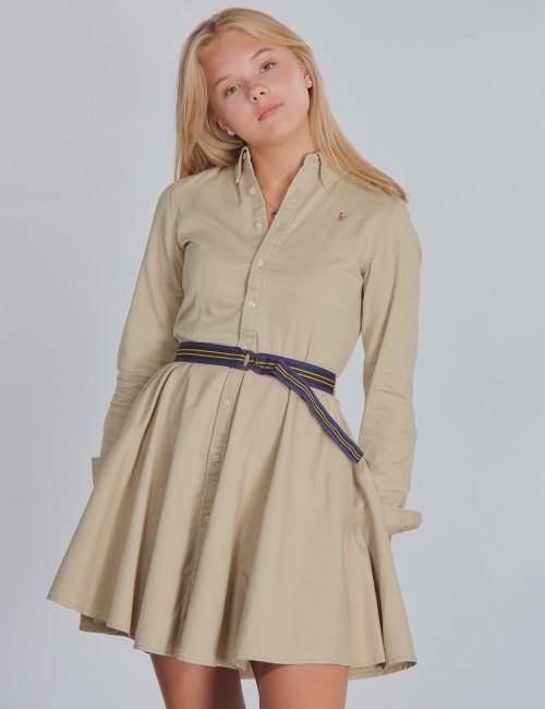 Ralph Lauren - CHINO DRESS-DRESSES-WOVEN