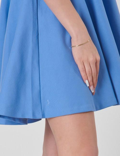 Ralph Lauren - RUFFLE DRESS-DRESSES-KNIT