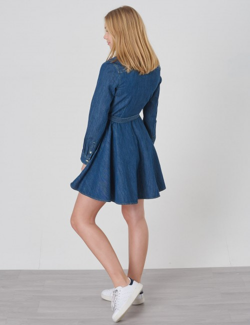 Ralph Lauren - DENIM SHIRTD-DRESSES-WOVEN