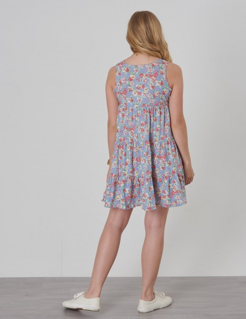Ralph Lauren barnkläder - FLORAL DRESS-DRESSES-KNIT