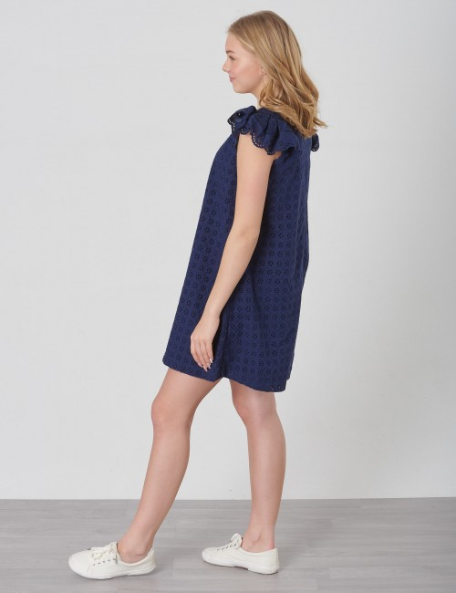 Ralph Lauren - EYELET DRESS-DRESSES-WOVEN
