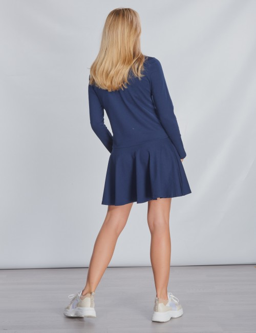 Ralph Lauren barnkläder - LS POLO DRES-DRESSES-KNIT