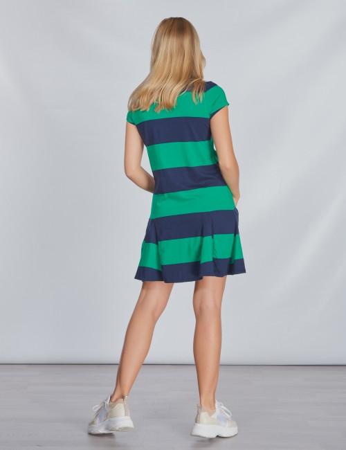 Ralph Lauren barnkläder - STRIPE DRESS-DRESSES-KNIT