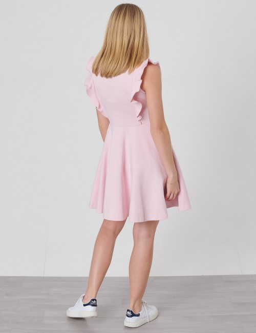 Ralph Lauren barnkläder - RUFFLE DRESS-DRESSES-KNIT