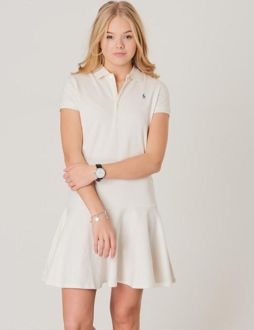 Ralph Lauren barnkläder - SHORT SLEEVE POLO DRESS