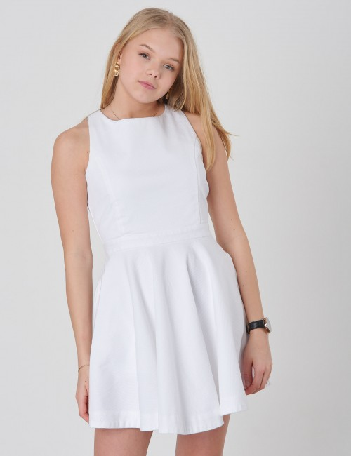 Ralph Lauren barnkläder - PIQUE DRESS-DRESSES-WOVEN