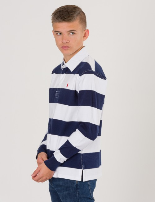 Ralph Lauren - LONG SLEEVE RUGBY POLO