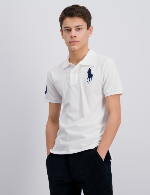 Ralph Lauren - SLIM POLO-TOPS-KNIT
