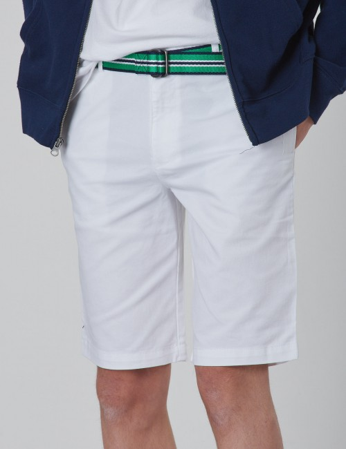 Ralph Lauren - BELTED SHORT-BOTTOMS-SHORT