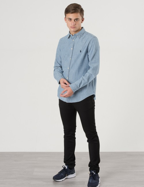Ralph Lauren barnkläder - LONG SLEEVE BUTTON DOWN SHIRT