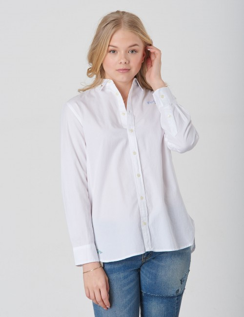 Ralph Lauren - SOLID TUNIC-TOPS-SHIRT