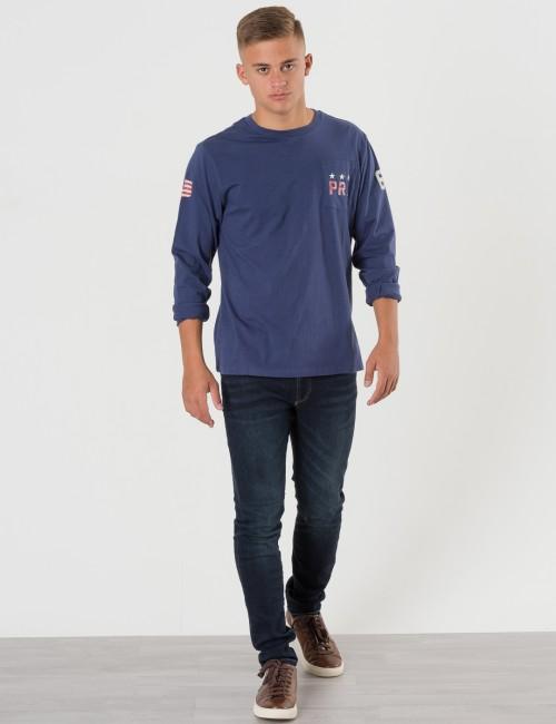 Ralph Lauren barnkläder - POCKET CREW NECK TEE