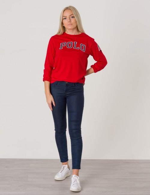 Ralph Lauren barnkläder - LS CREW NECK TEE