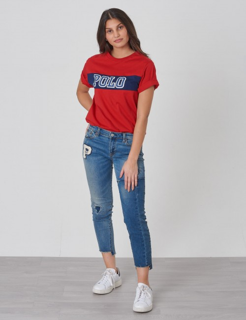 Ralph Lauren - PIECED TEE-TOPS-T-SHIRT