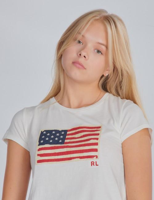 Ralph Lauren barnkläder - FLAG TEE