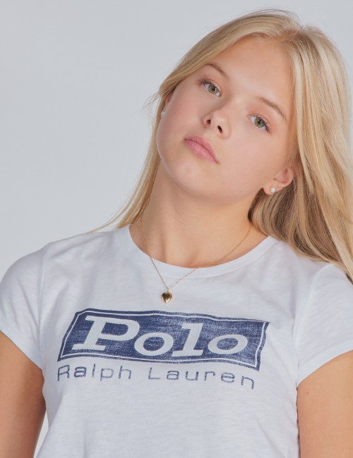 Ralph Lauren - GRAPHIC TEE-TOPS-KNIT