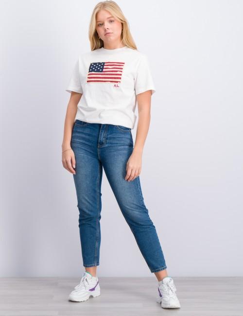 Ralph Lauren - SHORT SLEEVE FLAG T-SHIRT